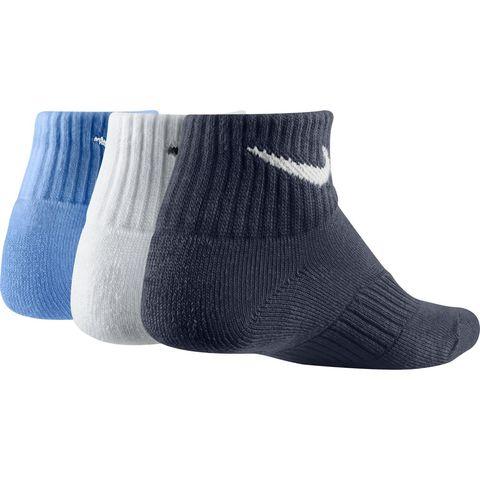 Kids' Nike Cotton Cushion Quarter Sock (3 Pair)