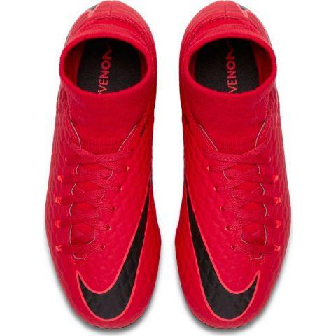 Kids' Nike Jr. Hypervenom Phelon III Dynamic Fit (AG-Pro) Artificial-Grass Football Boot