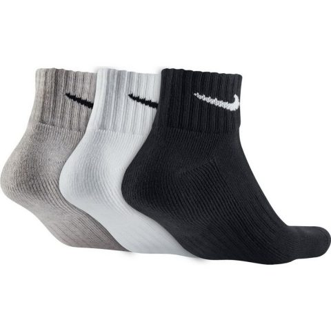 Unisex Nike Cushion Quarter Training Sock (3 Pair)