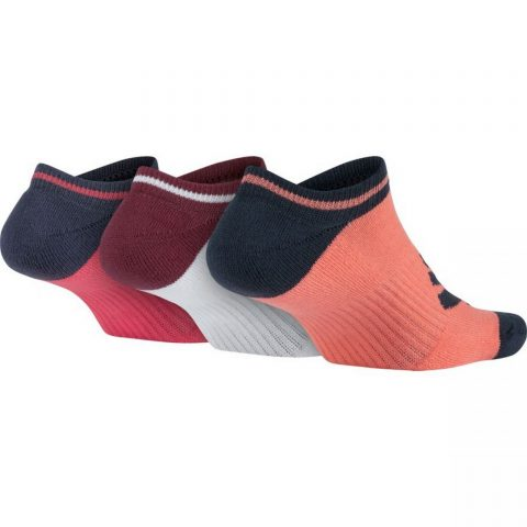 Women's Nike Sportswear Striped No-Show Socks (3 Pairs)
