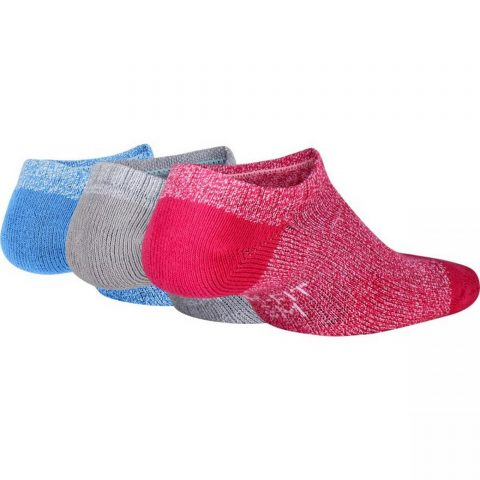 Kids' Nike Performance Cushioned No-Show Training Socks (3 Pair)