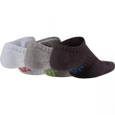 Nike Kids' Performance Cushioned No-Show Training Socks (3 Pair)