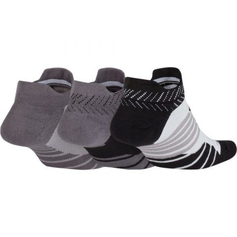 Women's Nike Dry Cushioned Low Training Socks (3 Pair)