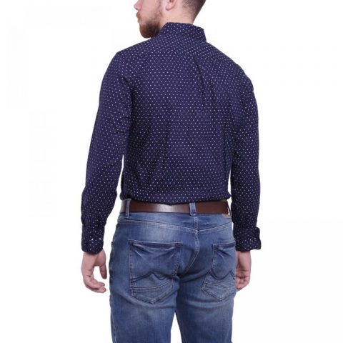 Funky Buddha Mens Shirt (Navy)