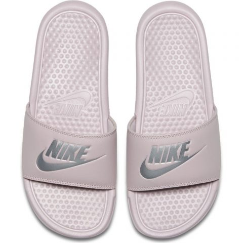 Nike Wmns Benassi JDI  PARTICLE ROSE/METALLIC SILVER