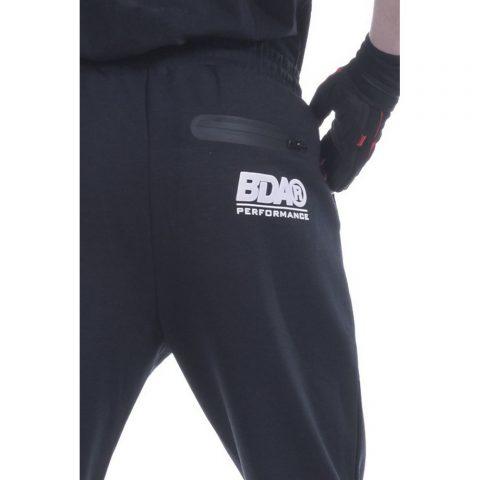 Body Action Men Gym Tech Pants (Black)