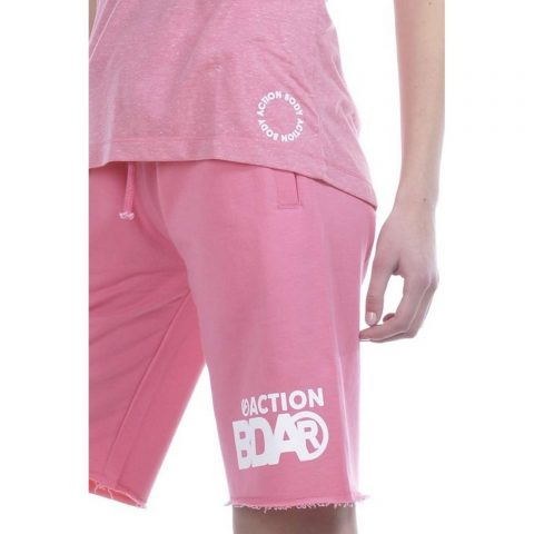 Body Action Women Bermuda Shorts (D.Pink)