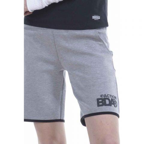 Body Action Women Training Shorts (L.Grey)
