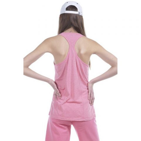 Body Action Women Workout Vest (Pink)