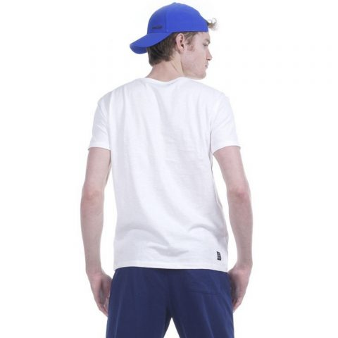 Body Action Men Crew Neck T-Shirt (White)