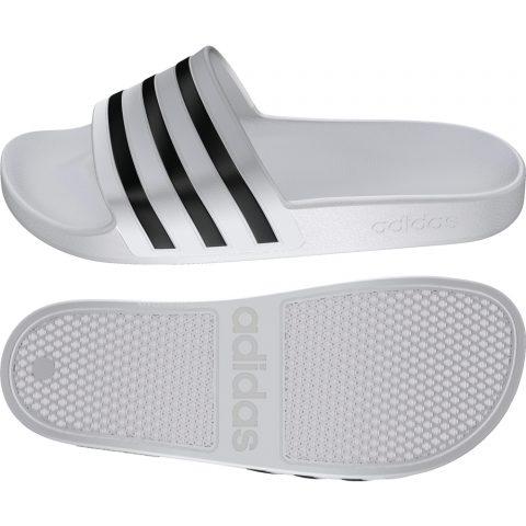 Adidas Adilette Aqua  FTWWHT/CBLACK/FTWWHT