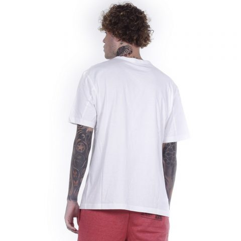 BODY ACTION MEN CREW NECK T-SHIRT - WHITE