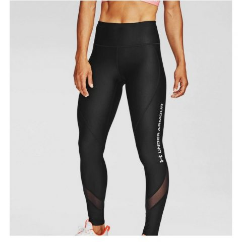 Women's HeatGear Armour Wordmark Leggings