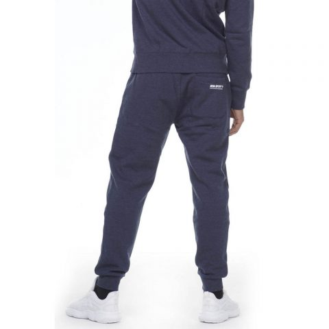 BODY ACTION MEN SPORT FLEECE JOGGERS - D.BLUE