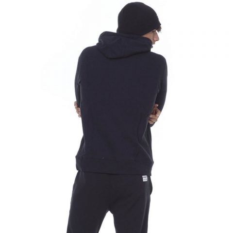 BODY ACTION MEN GYM HOODIE - BLACK