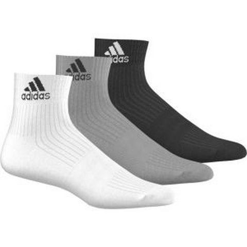 Adidas 3-STRIPES PERFORMANCE ANKLE SOCKS 3 PAIRS
