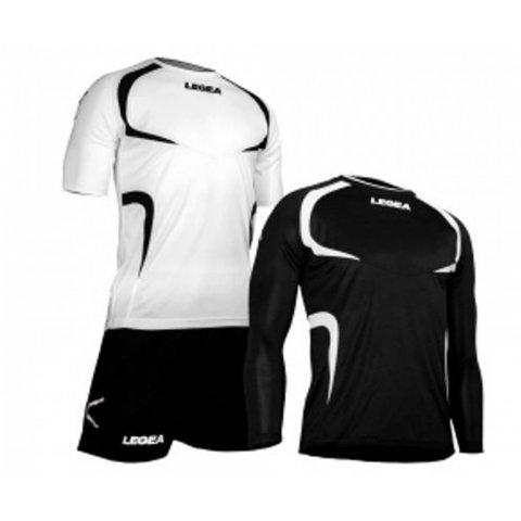 LEGEA KIT TAIPEI - WHITE/BLACK
