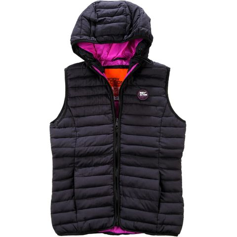 Body Action Women UltraLight Hodded Vest