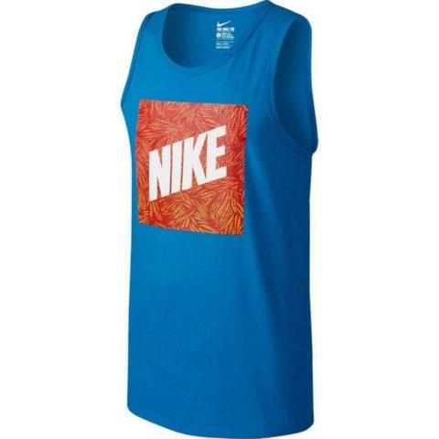 Men's Nike Palm Print Box Tank Top