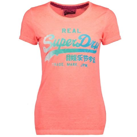 Superdry Vintage Logo Burn Out TEE
