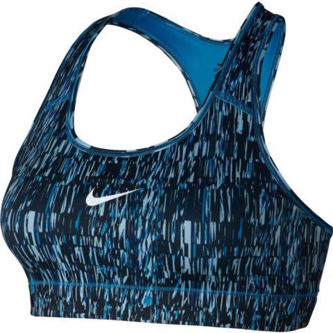 Women's Nike Victory Compression Screen Fuzz Sports Bra