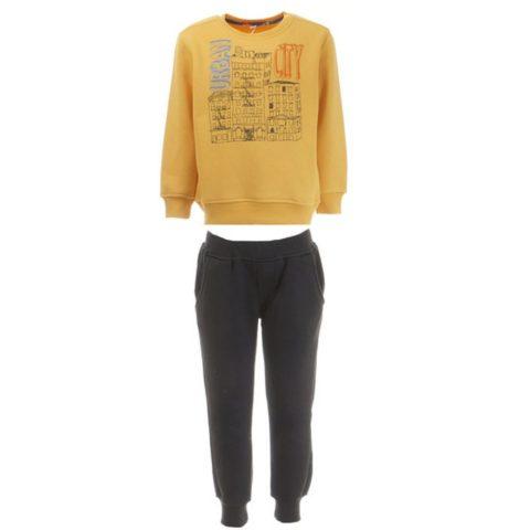 """Φόρμα Παντελόνι Και Μπλούζα Τύπωμα """"Urban City"""""""