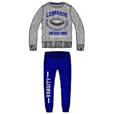 """ENERGIERS Φόρμα Παντελόνι Και Μπλούζα Με Τύπωμα """"Leopards"""""""