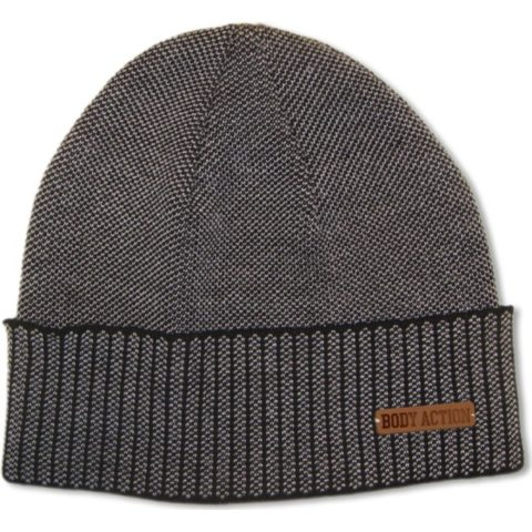 Body Action Jacquard Knit Beanie Hat