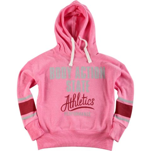 Body Action Women Oversized Hoodie L.PINK