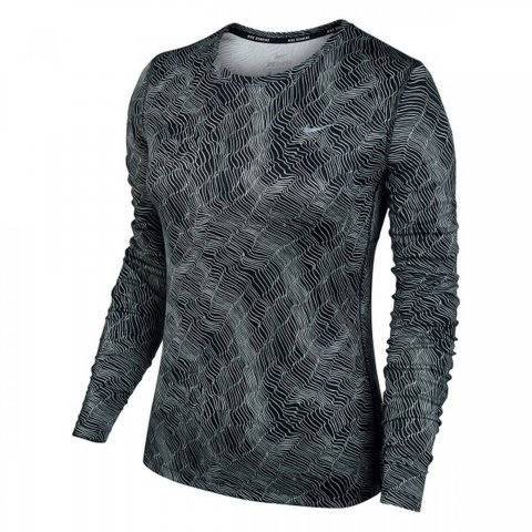 Nike Dry Miler Running Long Sleeve Top