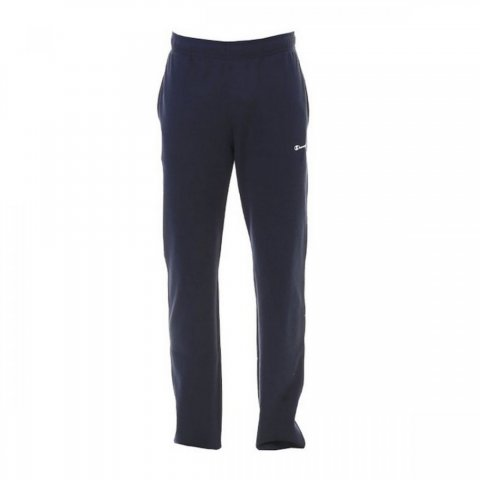 CHAMPION Sweatpants Straight Hem NAVY