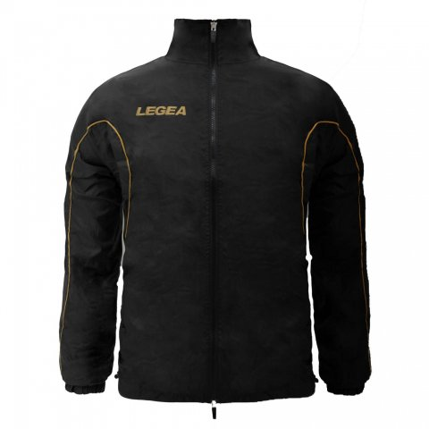 Legea Rain Jacket Ciclone (Black - Gold)
