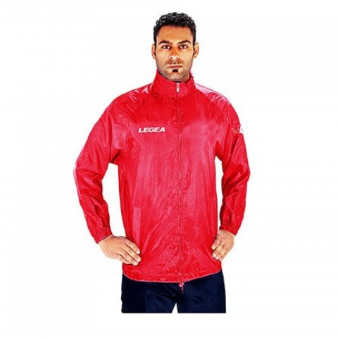 Legea Rain Jacket Italia (Red)