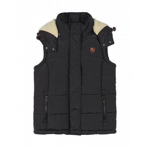 Funky Buddha Ladies SLVLS Jacket (Black)