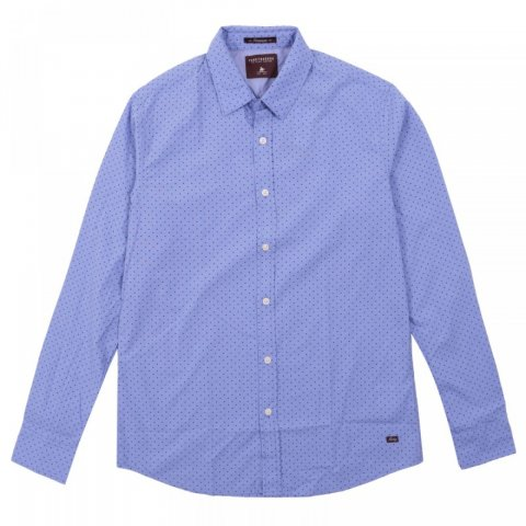 Funky Buddha Mens Shirt (Blue)