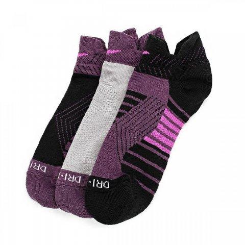 Women's Nike Dry Cushioned Low Training Socks (3 Pair)