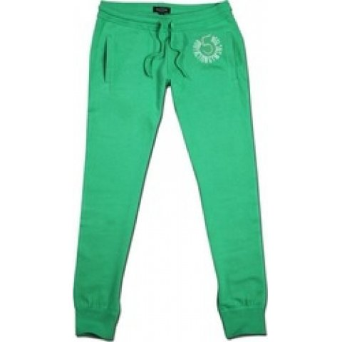 Body Action  Women Relaxed Fit Pants (Green)