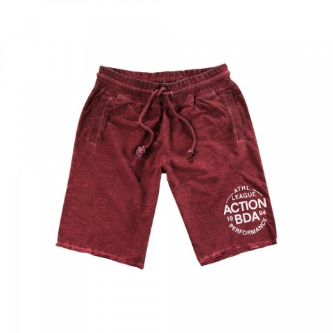 Body Action Women Regular Fit Bermuda Pants (D.Maroon)