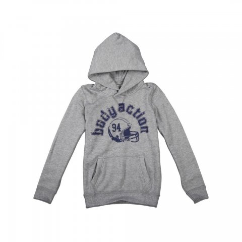 Body Action Boys College Hoody (L.Mel.Grey)