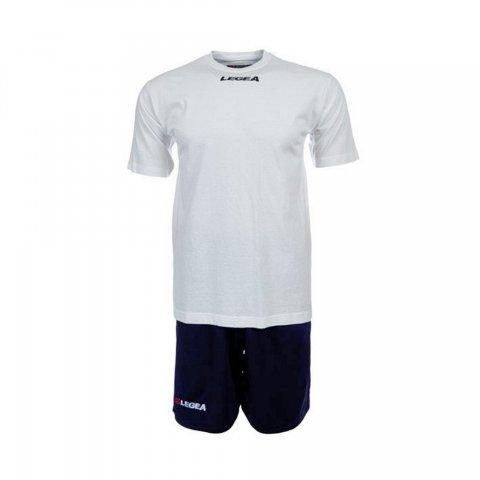 Legea Kit Tempo T-Shirt (White-Blue)