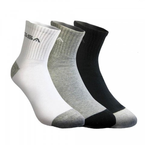 Gsa Aero Socks (Black,Grey,White)