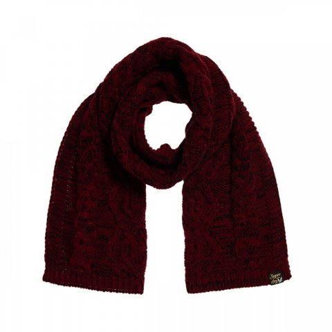 Superdry Arizona Cable Scarf