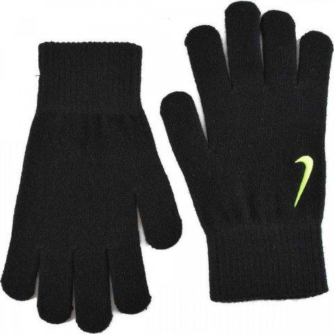 Nike YA Swoosh Knit Gloves Black