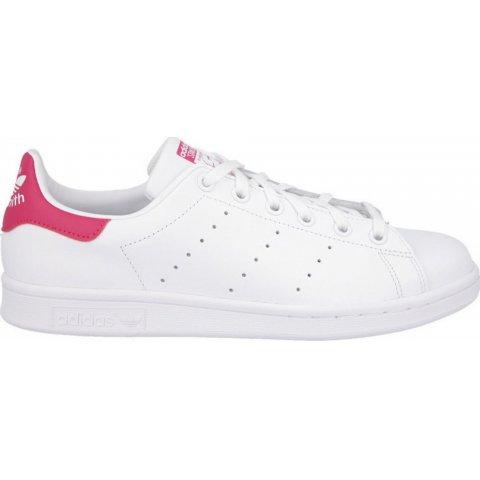 Adidas Stan Smith J FTWWHT/FTWWHT/BOPINK