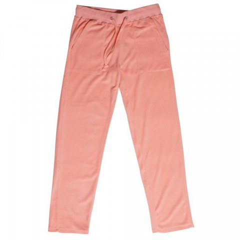 Body Action Women Basic Towel Pants (Coral)