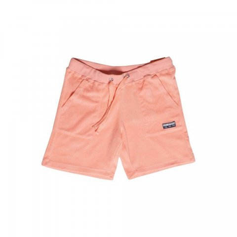 Body Action Women Terry Shorts (Coral)