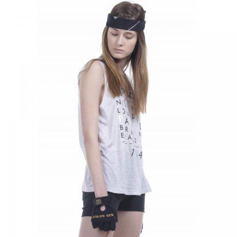 Body Action Women Punk Tank Top (White)