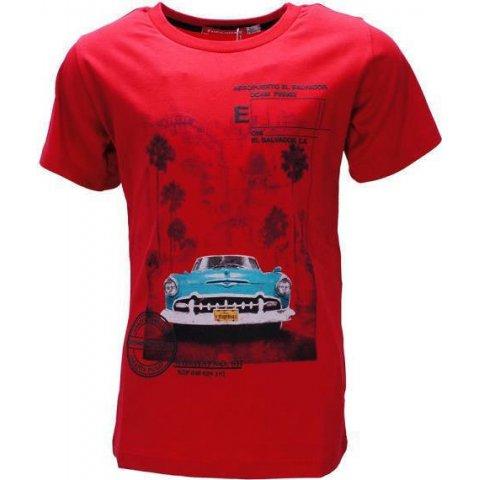 Energiers Μπλούζα Αγόρι (Κόκκινο)
