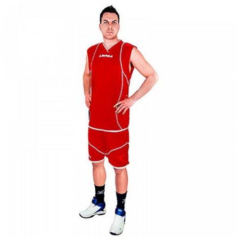 Legea Kit Storm Basket (Red-White)