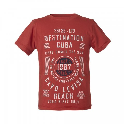 Energiers T-shirt τύπωμα Αγόρι (Πάπρικα)